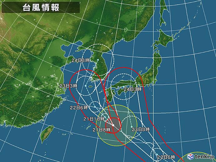 台風 19 号 進路